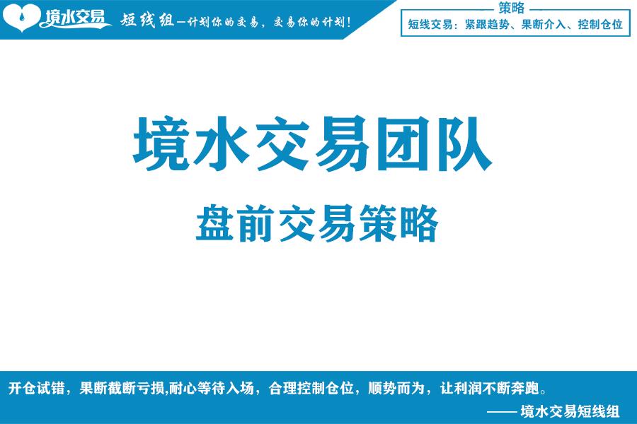 境水交易:5月22日期货高清组图
